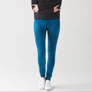 Lululemon High Times Pant 10 Shocking Blue Legging